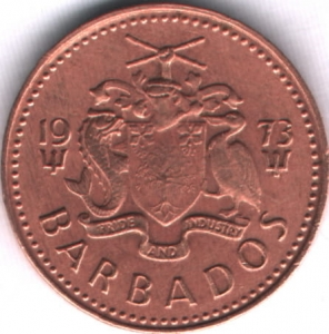 1 Cent 1973 Barbados  VF (III)
