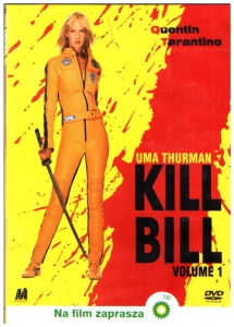 Kill Bill DVD (Uma Thurman)