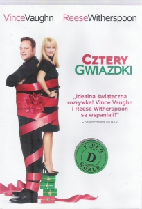 Cztery gwiazdki DVD (Reese Witherspoon, Vince Vaughn)