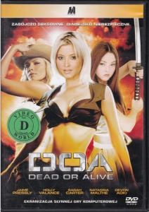 DOA Dead or alive DVD (H. Valance, D. Aoki)