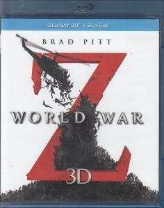 World War Z (3D + 2D) Blu-ray (Brad Pitt)