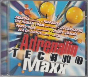 Adrenalin Techno Maxx - CD