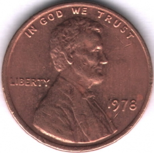 1 Cent 1978 USA VF (III)