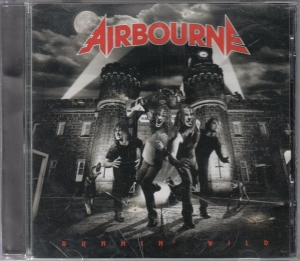 Airbourne ‎- Runnin' Wild - CD