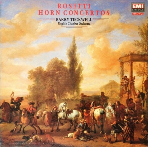 Rosetti, Barry Tuckwell, English Chamber Orchestra ‎– Horn Concertos - LP