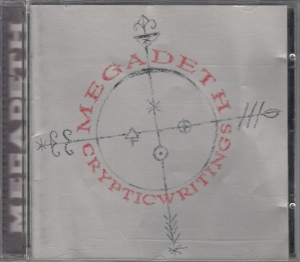 Megadeth ‎- Cryptic Writings - CD