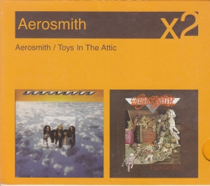 Aerosmith ‎- Aerosmith / Toys In The Attic - CD