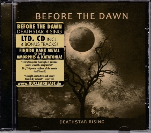 Before The Dawn ‎- Deathstar Rising - CD