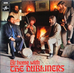 The Dubliners ‎- At Home With The Dubliners - LP