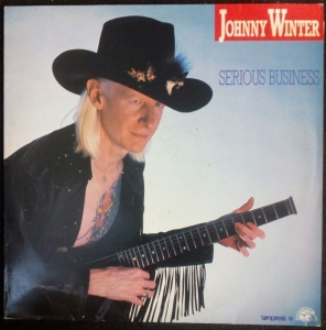 JOHNNY WINTER - Serious Business LP