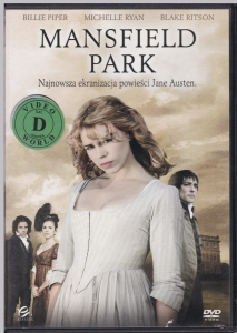 Mansfield Park DVD (Billie Piper, James D'Arcy)