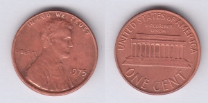 1 Cent 1975 USA VF (III)
