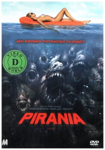 Pirania DVD (Adam Scott)