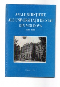 Anale Stiintifice Ale Universitatii De Stat Din Moldova 1946-1996