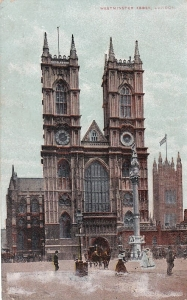 Anglia - Londyn - Westminster Abby - 1907