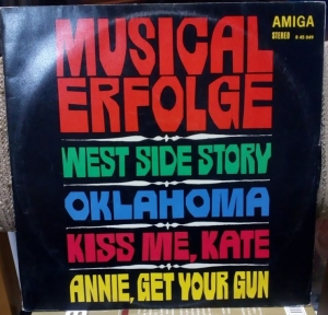 Musical Erfolge West Side Story Oklahoma Kiss me, Kate  LP