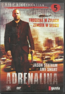 Adrenalina film DVD