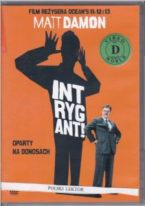 Intrygant DVD (Matt Damon)